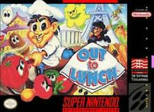 1x Out to Lunch Loose Super Nintendo