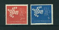 Luxembourg 1961 Europa full set of stamps. Mint. Sg 697-698