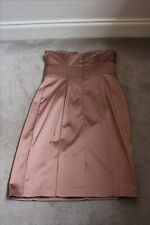 Belle by Oasis Ladies Dress - Size 10 - Bronze - Excellent Condition