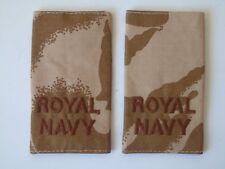 Royal Navy Desert Rank Slides - New
