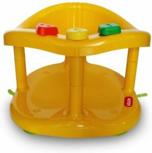 Baby Bath Tub Ring Seat New in Box By KETER - Yellow !!!