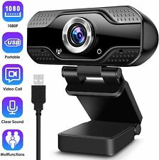 More details for 1080p hd streaming usb webcam with microphone pc mic video calling conference
