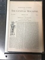 The Century Magazine 1888 Ranch Life Frederic Remington Articles 4 And 5