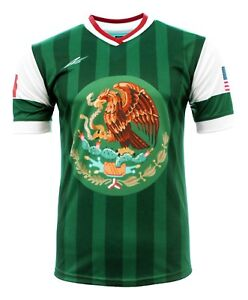 Men's Jersey Mexico and USA Arza Design 100% Polyester
