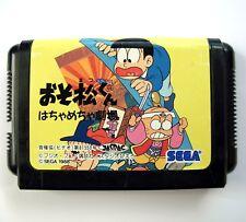 Very RARE Osomatsu-kun Hachamecha Gekijou Megadrive (JAP) - Game Sega Mega Drive