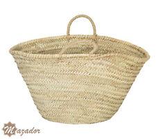 French Basket, Straw tote Moroccan beach bag, Tote Shopper Bag, Summer straw bag