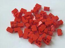 Lego 3004# 60x Basic Steine 1x2 hoch in rot 165 148 10018