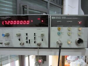 Hewlett-Packard Agilent Keysight HP5355A Automatic Frequency Converter forHP5345