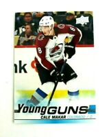 2019-20 UD Series 2 Cale Makar Young Guns RC #493 Colorado Avalanche
