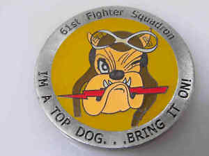 61ST FIGHTER SQUADRON CHALLENGE COIN