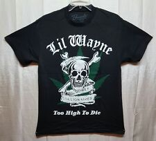 "New Lil Wayne ""Too High To Die"" Young Money Milionares T-Shirt Tee MEDIUM A301"