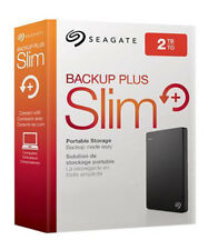 Seagate Portable 2TB Slim External Hard Drive New