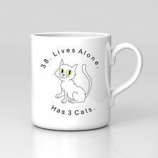 Impractical Jokers Team Q Tattoo Cat Lives Mug Great Birthday Xmas Gift New