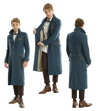 """Newt Scamander Coat """"Fantastic Beasts & Where To Find Them"""" LE Overcoat Mens XXL"""