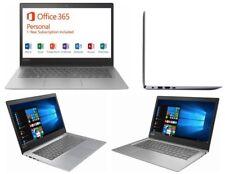 "Lenovo Thin Laptop 14"" 1366x768 HD 1.1GHz 2GB RAM 32GB eMMC Gray 3.2 lbs MicroSD"