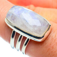 Rainbow Moonstone 925 Sterling Silver Ring Size 8 Ana Co Jewelry R38740F