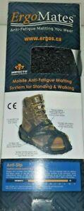 NEW IMPACTO ErgoMates Black Anti-Fatigue Work Overshoes Anti-slip Size M G88803M