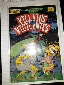 Villains and Vigilantes #1 (1986 Mini Series, December 1986, Eclipse)