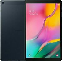 """NEW (2019) Samsung Galaxy Tab A 10.1"""" FHD Tablet 128GB Octa-Core Android 9 Black"""