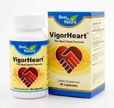 Vigorheart CoQ-10 Cardiovascular & Heart Health Vitamin 30 & 60 Capsules