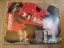 $$m Revue L'Equipe N°936 Ferrari  Paris-Roubaix  GP Imola  Akebono