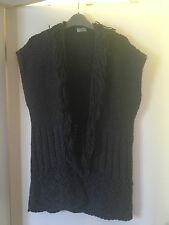 Girls Next Cardigan Knitwear 11-12 Grey Excellent Condition