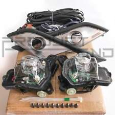 Fit 2016-2018 Mazda CX-3 CX3 LED Fog Driving Light Kit with Bezel Wires Relay