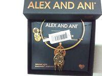 Alex and Ani Dreamcatcher Bangle Bracelet Rafaelian Gold NWTBC
