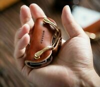 Genuine Leather Key Wallet Keychain EDC Pocket Car Organizer Holder Modern