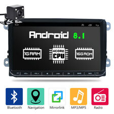 "9"" Autoradio Bluetooth MP5 GPS Navi + Telecamera Per VW GOLF 5 V 6 PASSAT EOS"