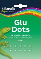 Bostick Glu Dots Pressure sensitive adhesive dots Instant Fix 4x sheets of 16