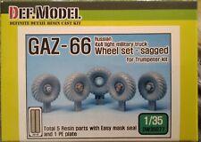 Def.Model Gaz 66 Wheel Set-sagged 1:35