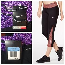 NEW $60 Nike Dri-FIT Women's Racer 2.0 Crop Running Tights - Train-Yoga-Cycle, M