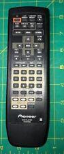 PIONEER VXX2705 5 DISC DVD PLAYER REMOTE - ORIGINAL - DV-C503 D12 W/BATT.