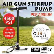 3 Stage PCP Air Gun Rifle Filling Stirrup Pump 1/8 BSP 4500PSI Pistol New