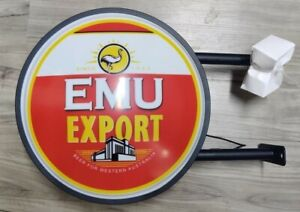Emu Export Bar Lighting Wall Sign Light LED Man Cave Christmas Gift