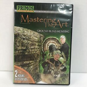Primos Mastering The Art DVD, Ground Blind Hunting NEW