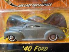 1940 FORD CHOPPED COUPE VON DUTCH GARAGE WAVE 2 JADA 1/64
