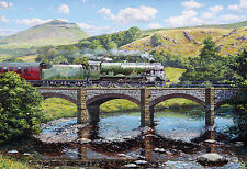 Gibsons - 500 PIECE JIGSAW PUZZLE - Crossing The Ribble