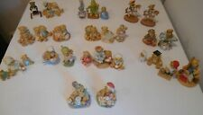 New ListingEnesco Cherished Teddies Windsor Bears Cranberry Commons Lot of 29 Figurines