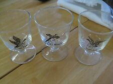FEDERAL GLASS SPORTSMAN FOOTED ~ CANVASBACK, CANADA GOOSE, RING NECKED PHEASANT