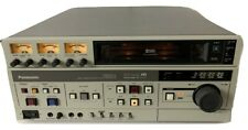 Panasonic AG-7500A Professional S-VHS Video Cassette Recorder Editor WORKING