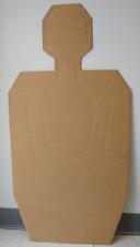 TPC(CB) Tactical Police Combat Cardboard Target (bundle of 100)