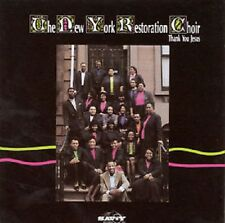 New York Restoration Choir -  Thank You Jesus - New Factory Sealed CD