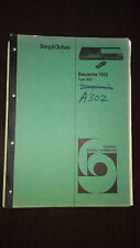 Bang and Olufsen beocenter 7000 type 1801 service manual original repair book