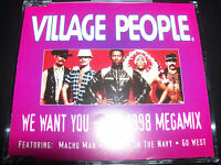 The Village People We Want You The 1998 Megamix Australian CD Single