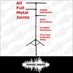 Lighting Stand Tree Truss Tripod Steel Joint Portable DJ Stage Disco + Hardware