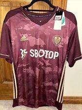 Patrick Bamford Leeds United Jersey Mens Size Medium Nwt Maroon Sbotop Soccer