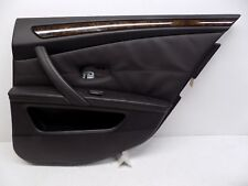 2008-2010 BMW 550i 535i REAR RIGHT INTERIOR DOOR PANEL COVER BLACK TRIM OEM