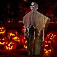 Skull Halloween Hanging Ghost Haunted House Grim Reaper Horror Prop Decor
